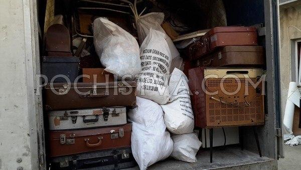 Изнасяне и извозване на боклуци